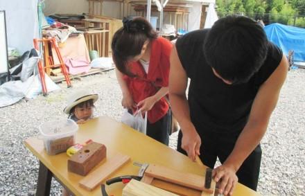 9/3(日)木工教室・木楽市