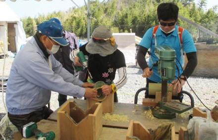 3/11(日)木工教室「竹の灯篭づくり」開催報告